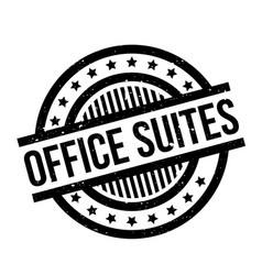Office suites rubber stamp vector