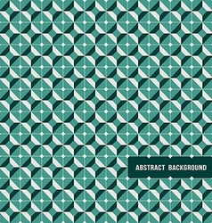 pattern Modern geometric tiles vector image