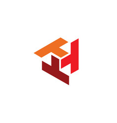 T triple logo vector
