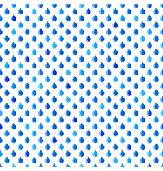 Drops pattern vector image