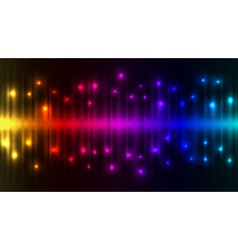 Abstract color lights background vector