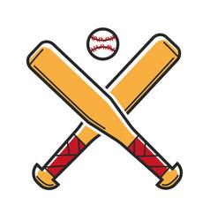 Baseball sport game usa america travel landmarks vector
