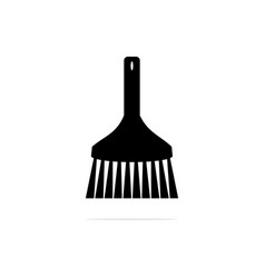 brush icon concept for design vector image