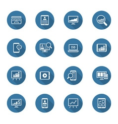 Flat Design Icon Set vector