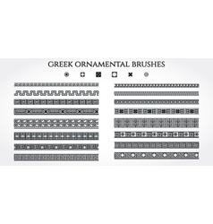 Greek Ornament Border vector image