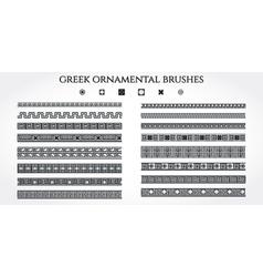 Greek Ornament Border vector