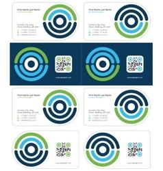 Optimal business card 1 vector