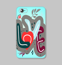 protective mobile phone case vector image