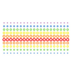 shutter shape halftone spectral effect vector image