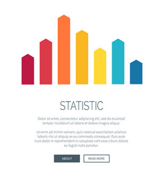 statistic representation design for web page vector image