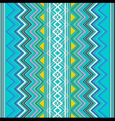 zigzag striped seamless pattern vector image