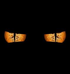 Devil Eyes vector image vector image