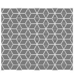 Geometric block pattern vector image