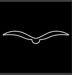 bird it is icon vector image