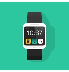 Smart watch isolated on vector image