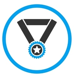 Winner Medal Icon vector