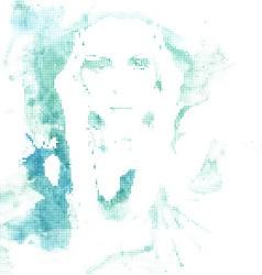 halftone water woman splash vector image vector image