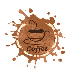 coffee design over background vector image