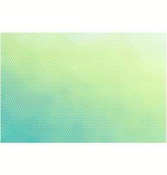 Delicate turquoise light green dotted background vector