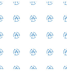 harvest icon pattern seamless white background vector image
