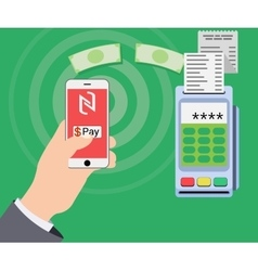 Mobile payments and near field communication vector