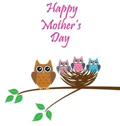 Nest mom day vector