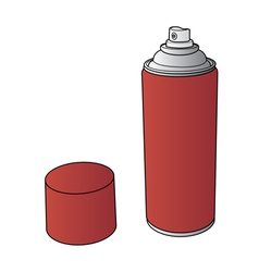 Spray paint can vector