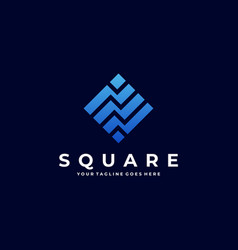 square template vector image