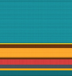 Striped coloured textile background pattern vector