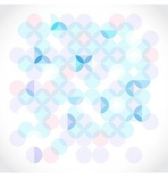 Transparent circles vector