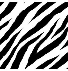 Zebra seamless pattern vector image