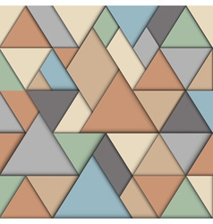 Retro origami background vector image vector image