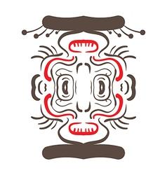 Aztec moneky vector