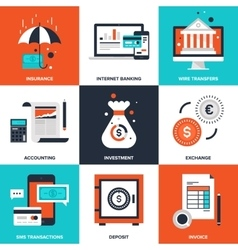 Banking and Finance vector