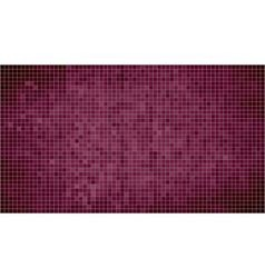 Burgundy abstract mosaic background vector image