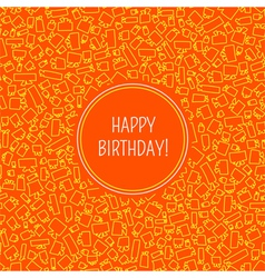 card with birthday vector image