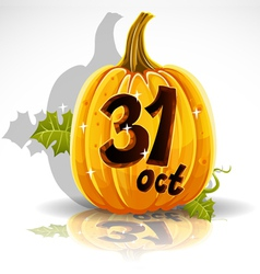 Halloween October 31 Background vector