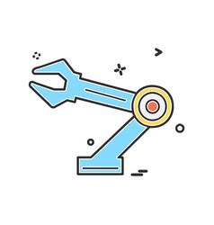 hardware tools icon design vector image