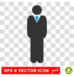 Manager Eps Icon vector