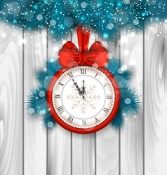 New Year Midnight Shimmering Background vector