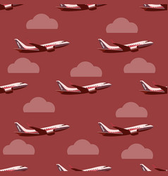 pane in the sky seamless pattern vector image