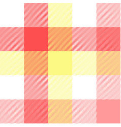 pink baby color plaid seamless pattern vector image