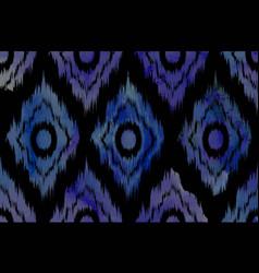 vivid chevron zig zag watercolor pattern vector image