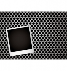 metal grill photo vector image vector image