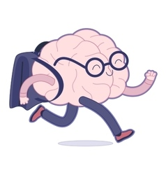 Back to school Brain collection vector image
