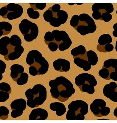 leopard seamless background vector image