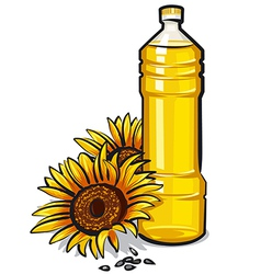 Cooking oil vector