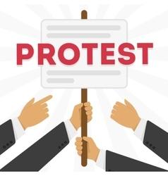 A protest vector