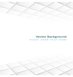 Abstract perspective background with square tiles vector