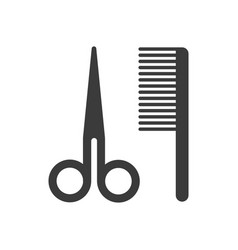 barber accessories icons vector image